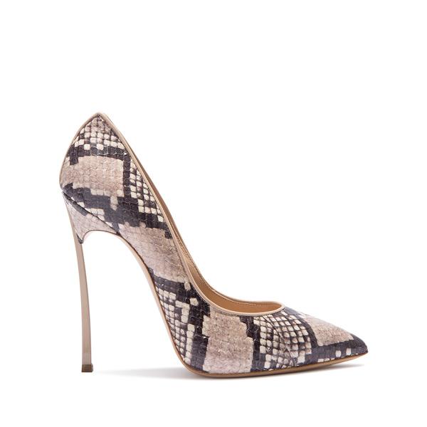 Коллекция летней обуви Casadei из змеиной кожи