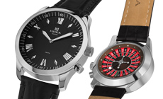 Серебряные часы «Казино» от НИКИ