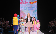 Капсульная детская коллекция Barbie & Hot Wheels by Глюк'oZa