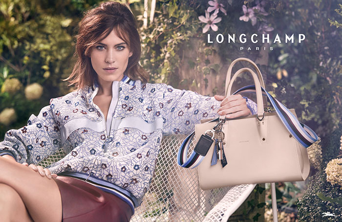 Новая рекламная кампания Longchamp