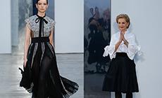 Carolina Herrera представила коллекцию на New York Fashion Week