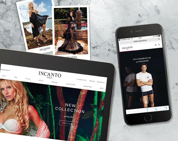 INCANTO запускает интернет-магазин в России