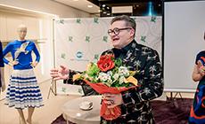 «Модный разговор» с Александром Васильевым в Универмаге «ХЦ Лейпциг»