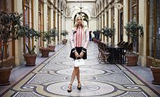 Новые образы Елены Перминовой для LONGCHAMP