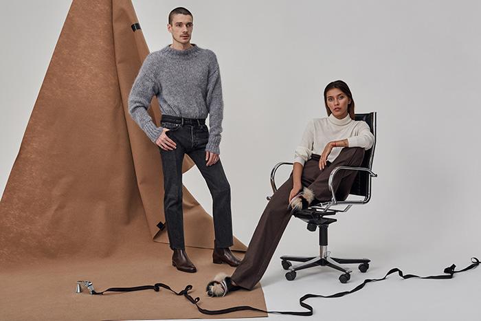 Регина Тодоренко в рекламной кампании NO ONE