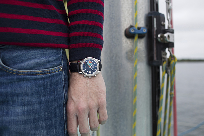 TAG Heuer представляет Carrera Skipper Chronograph