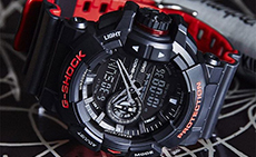 Новинка от Casio G-SHOCK - серия Black&Red