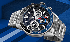 Часы TAG Heuer Carrera Heuer-02 с функцией GMT